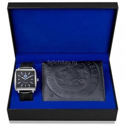 Подарочный набор Часы и бумажник Челси